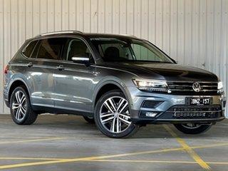 2020 Volkswagen Tiguan 5N MY21 162TSI Highline DSG 4MOTION Allspace Grey 7 Speed.