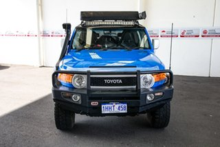2012 Toyota FJ Cruiser GSJ15R Voodoo Blue 5 Speed Automatic Wagon