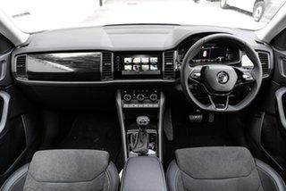 2020 Skoda Kodiaq NS MY21 132TSI DSG White 7 Speed Sports Automatic Dual Clutch Wagon.