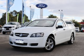 2010 Holden Ute VE MY10 Omega White 4 Speed Automatic Utility.