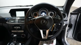 2013 Mercedes-Benz C-Class C204 MY13 C180 7G-Tronic + Silver 7 Speed Sports Automatic Coupe