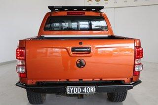 2015 Holden Colorado RG MY16 LTZ Crew Cab Orange 6 Speed Manual Utility