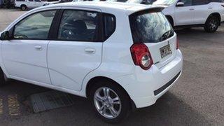 2011 Holden Barina TK MY11 White 5 Speed Manual Hatchback
