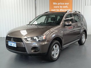 2010 Mitsubishi Outlander ZH MY11 LS 2WD Bronze 6 Speed Constant Variable Wagon.