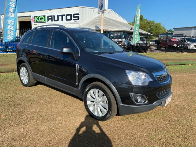 Used Holden Captiva CG MY15 5 LT Berrimah, 2015 Holden Captiva CG MY15 5 LT Black 6 Speed Sports Automatic Wagon