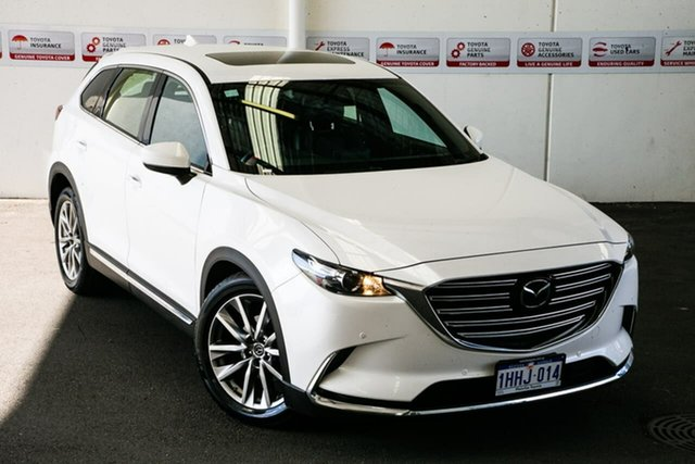 Pre-Owned Mazda CX-9 MY19 GT (FWD) Myaree, 2019 Mazda CX-9 MY19 GT (FWD) White 6 Speed Automatic Wagon