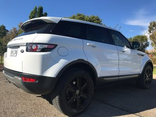 2012 Land Rover Range Rover Evoque L538 MY12 TD4 CommandShift Pure White 6 Speed Sports Automatic