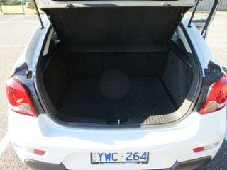 2012 Holden Cruze JH Series II Tu SRi White Automatic Hatchback