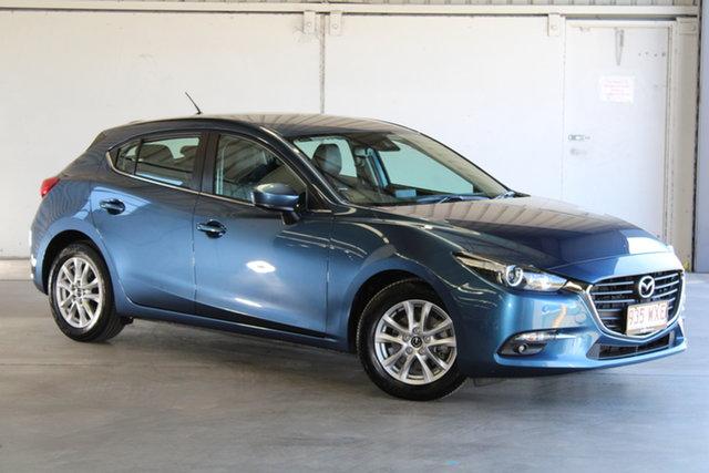 Used Mazda 3 BM5478 Touring SKYACTIV-Drive Laverton North, 2016 Mazda 3 BM5478 Touring SKYACTIV-Drive Blue 6 Speed Sports Automatic Hatchback