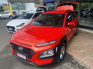 2017 Hyundai Kona OS MY18 Active 2WD Tangerine Comet 6 Speed Sports Automatic Wagon.