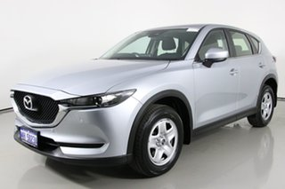 2017 Mazda CX-5 MY17 Maxx (4x2) Silver 6 Speed Automatic Wagon.