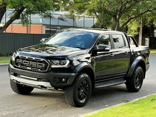 2019 Ford Ranger PX MkIII 2019.00MY Raptor Black 10 Speed Sports Automatic Double Cab Pick Up.