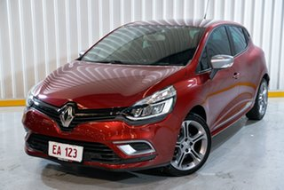 2017 Renault Clio IV B98 Phase 2 GT-Line EDC Red 6 Speed Sports Automatic Dual Clutch Hatchback.