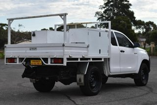 2016 Toyota Hilux GUN125R Workmate Extra Cab White 6 Speed Manual Cab Chassis