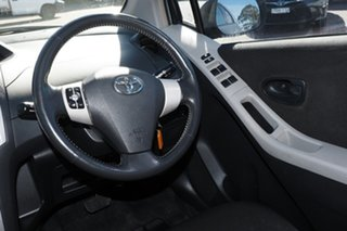 2006 Toyota Yaris NCP91R YRS Medium Silver 4 Speed Automatic Hatchback