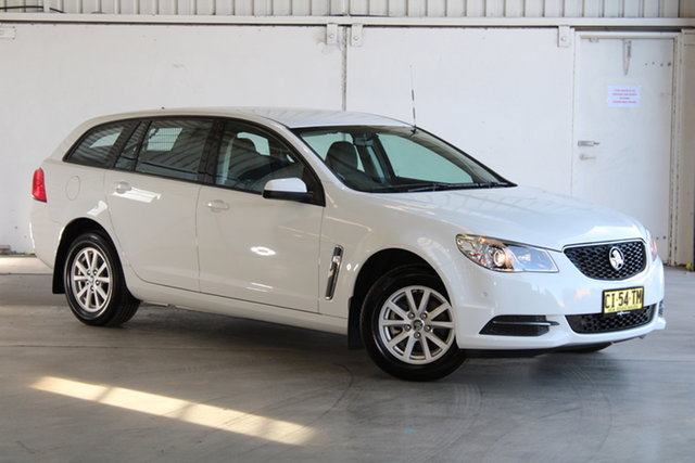 Used Holden Commodore VF II MY16 Evoke Sportwagon Laverton North, 2016 Holden Commodore VF II MY16 Evoke Sportwagon White 6 Speed Sports Automatic Wagon