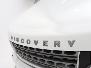 2014 Land Rover Discovery MY14 3.0 SDV6 SE Fuji White 8 Speed Automatic Wagon