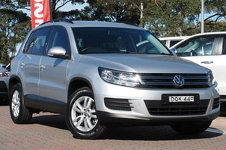 2015 Volkswagen Tiguan 5N MY15 118TSI DSG 2WD Silver 6 Speed Sports Automatic Dual Clutch SUV.
