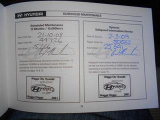 2006 Hyundai Accent MC Blue 5 Speed Manual Sedan