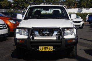 2014 Nissan Navara D40 S8 RX White 6 Speed Manual Utility.
