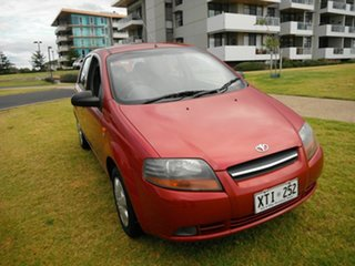2003 Daewoo Kalos T200 Red 4 Speed Automatic Hatchback.