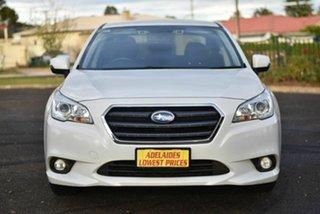 2015 Subaru Liberty B6 MY15 2.5i CVT AWD White 6 Speed Constant Variable Sedan.