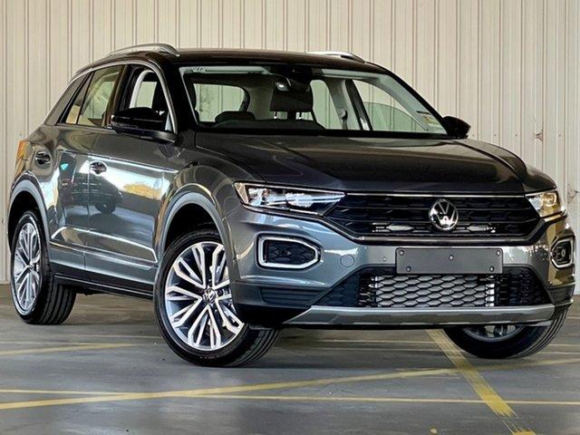 New Volkswagen T-ROC A1 MY21 110TSI Style Moorabbin, 2021 Volkswagen T-ROC A1 MY21 110TSI Style Black 8 Speed Sports Automatic Wagon