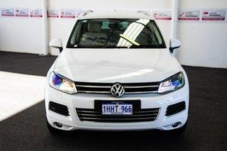 2012 Volkswagen Touareg 7P MY12 V6 TDI 8 Speed Automatic Wagon.