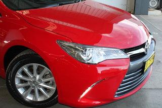 2016 Toyota Camry ASV50R Altise Cherry 6 Speed Sports Automatic Sedan.