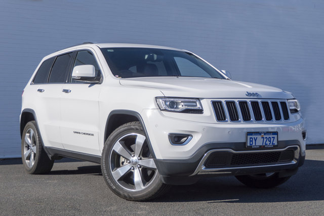 Used Jeep Grand Cherokee WK MY2014 Limited Bunbury, 2014 Jeep Grand Cherokee WK MY2014 Limited White 8 Speed Sports Automatic Wagon