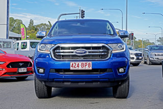 2019 Ford Ranger PX MkIII 2019.00MY XLT Blue 10 Speed Sports Automatic Double Cab Pick Up.