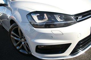 2016 Volkswagen Golf VII MY16 110TSI DSG Highline White 7 Speed Sports Automatic Dual Clutch Wagon.