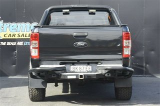 2014 Ford Ranger PX XLS Double Cab Black 6 Speed Manual Utility