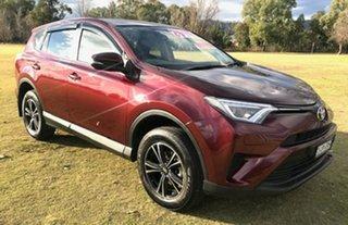 2017 Toyota RAV4 ASA44R GX AWD Red 6 Speed Sports Automatic Wagon.