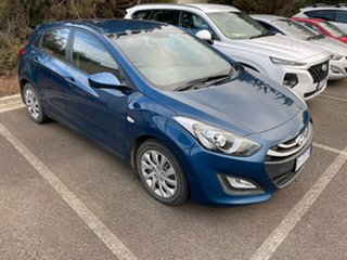 2013 Hyundai i30 GD2 Active Dazzling Blue 6 Speed Sports Automatic Hatchback.