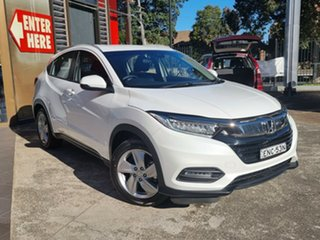 2020 Honda HR-V MY20 VTi-S White 1 Speed Constant Variable Hatchback.