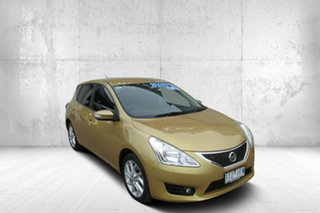 2013 Nissan Pulsar C12 ST-S Gold 1 Speed Constant Variable Hatchback.