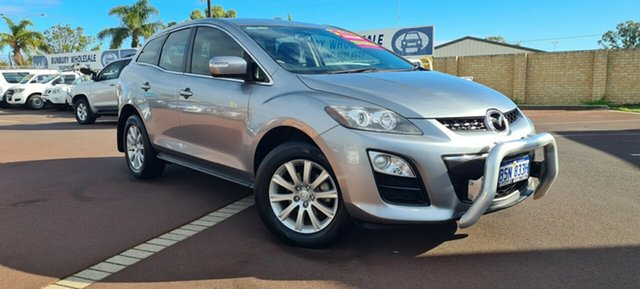 Used Mazda CX-7 ER10L2 Classic Activematic East Bunbury, 2012 Mazda CX-7 ER10L2 Classic Activematic Silver 5 Speed Sports Automatic Wagon