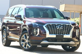 2021 Hyundai Palisade LX2.V1 MY21 Highlander AWD Sierra Burgundy 8 Speed Sports Automatic Wagon.