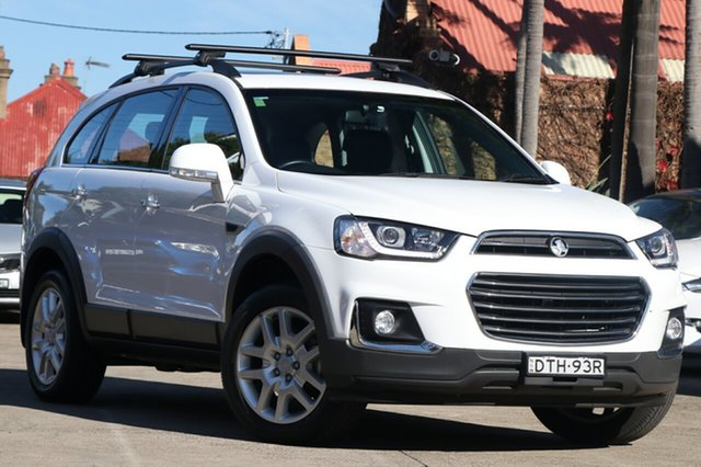 Pre-Owned Holden Captiva CG MY16 Active 7 Seater Mosman, 2017 Holden Captiva CG MY16 Active 7 Seater 6 Speed Automatic Wagon