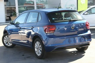 2021 Volkswagen Polo AW MY21 85TSI DSG Comfortline Blue 7 Speed Sports Automatic Dual Clutch.