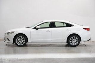 2016 Mazda 6 GJ1032 Sport SKYACTIV-Drive White 6 Speed Sports Automatic Sedan.