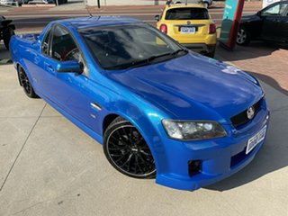 2008 Holden Commodore VE MY09.5 SS Blue 6 Speed Manual Utility.