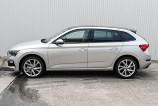 2020 Skoda Scala NW MY21 110TSI DSG Silver 7 Speed Sports Automatic Dual Clutch Hatchback