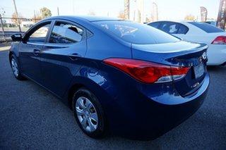 2012 Hyundai Elantra MD Active Santorini Blue 6 Speed Sports Automatic Sedan.