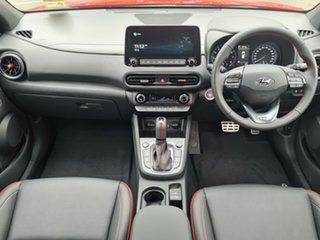 2021 Hyundai Kona Os.v4 MY21 N-Line D-CT AWD Ignite Flame 7 Speed Sports Automatic Dual Clutch Wagon