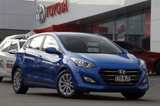 2015 Hyundai i30 GD4 Series II MY16 Active Blue 6 Speed Sports Automatic Hatchback.