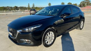2017 Mazda 3 BN5278 Maxx SKYACTIV-Drive Black 6 Speed Sports Automatic Sedan