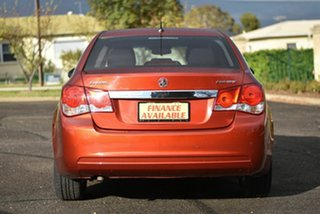 2015 Holden Cruze JH Series II MY15 Equipe Orange 6 Speed Sports Automatic Sedan
