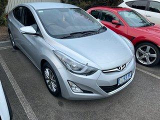 2015 Hyundai Elantra MD3 SE Sleek Silver 6 Speed Sports Automatic Sedan.